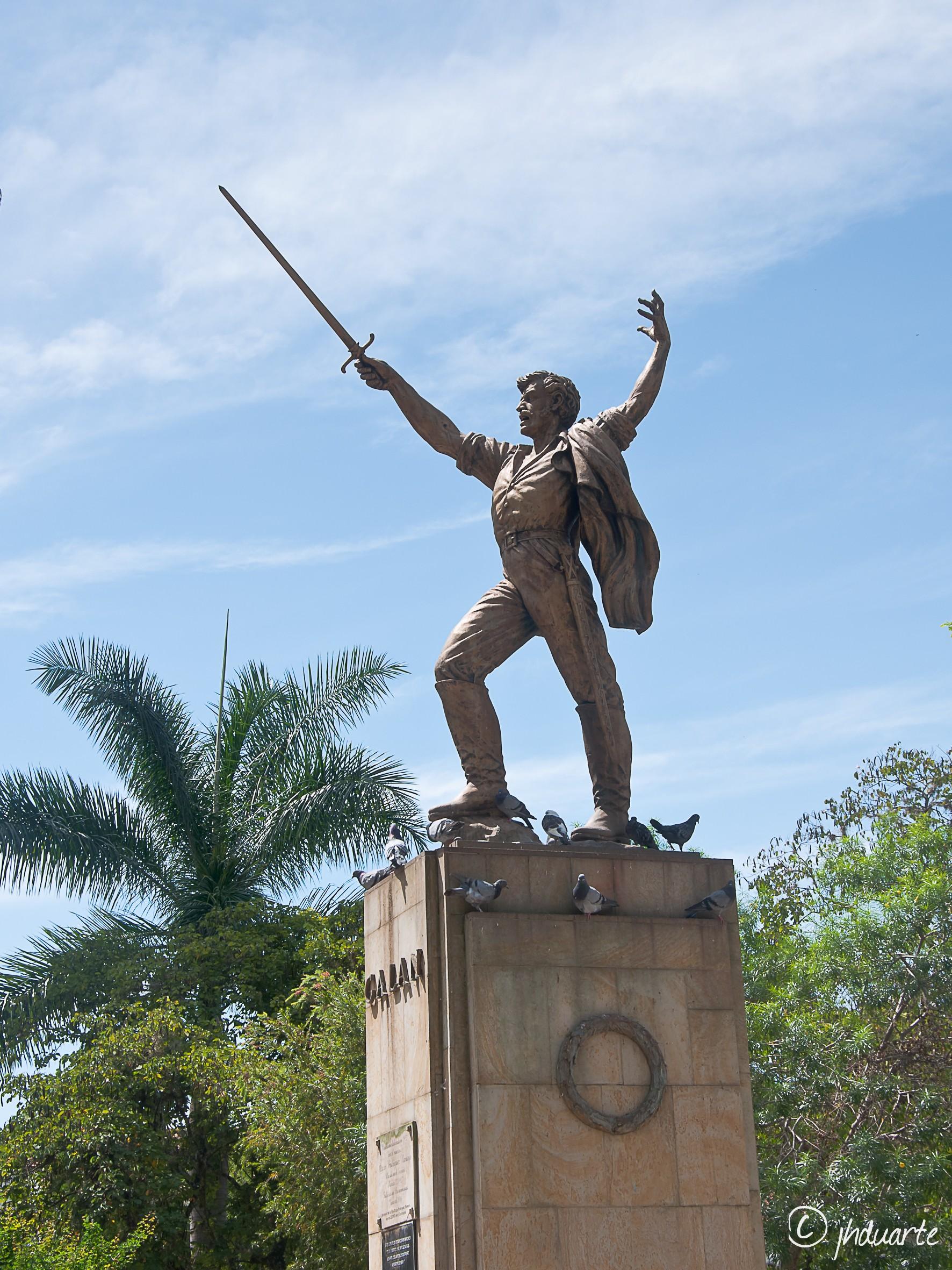 MONUMENTO A JOSÉ ANTONIO GALÁN EN EL SOCORRO (SANTANDER)