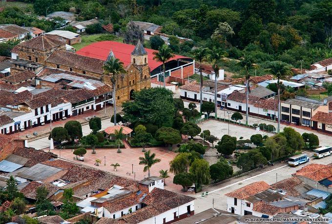 MATANZA / Antigua Provincia de Soto / SANTANDER, TIERRA NATAL DEL PRÓCER FERNANDO SERRANO Y URIBE.
